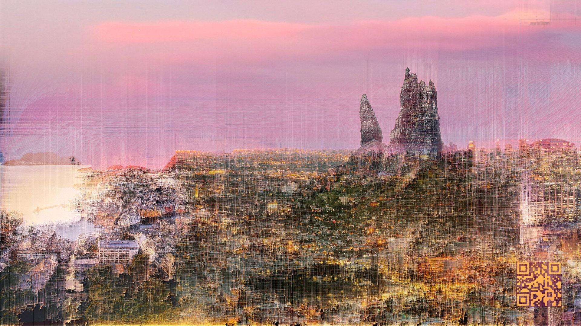 Artwork 'City of Highway Lights'