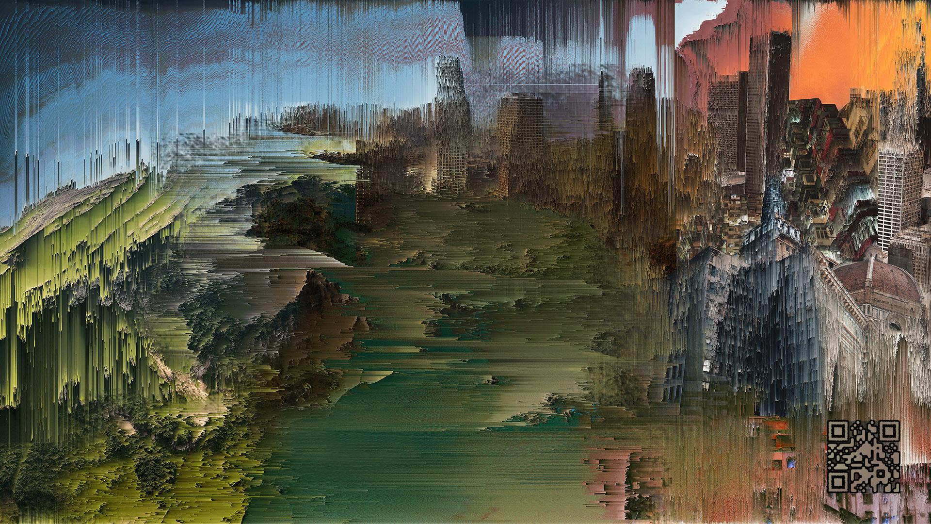 Artwork 'Digitocubist Landscape'